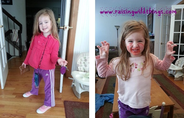 """Believe it or not, she asked the same question before I took each of these pics: """"Mamma, do I look fabulous?"""""""
