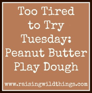PB play dough