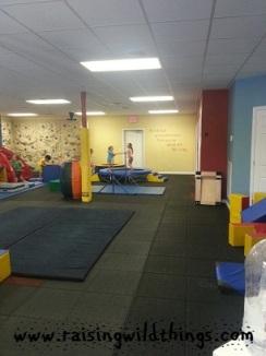 Adjusting to VA by enjoying gymnastics camp