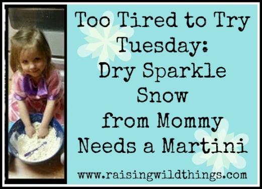 dry sparkle sand
