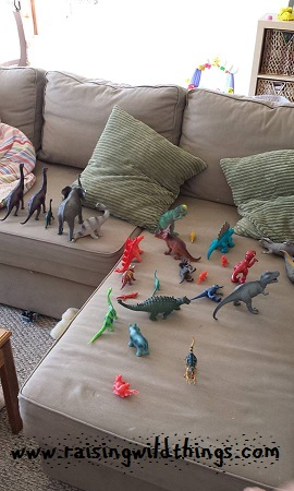 Dinosaur parade.