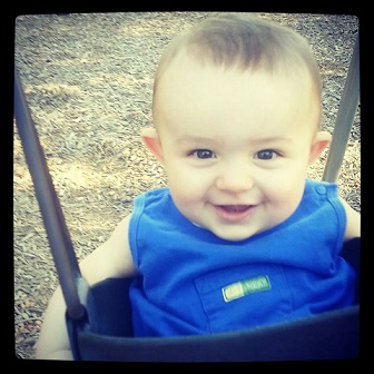 Stephanie from TX: Ace Avery Harrison. He is 7 months in this pic and 10 months now.