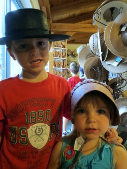 Julianne from MD: My little ones, in Amish country.