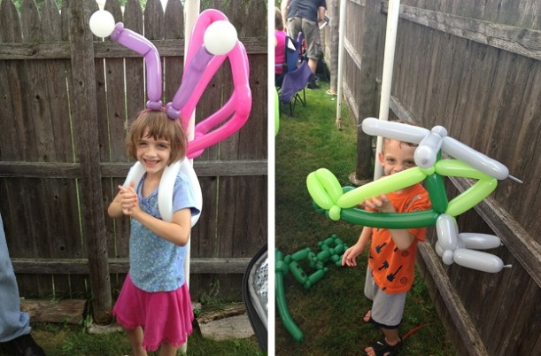 From Ms. Snippy Bloomers: Balloon artistry at it's best.