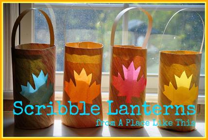 scribble lantern