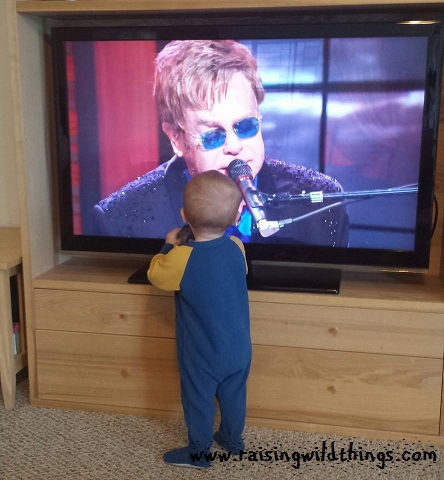 We share a love of Sir Elton